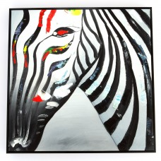Зебры поп-арт