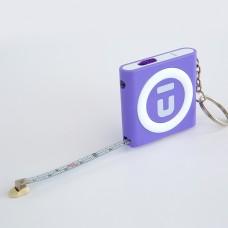 Брелок-рулетка фиолетовый