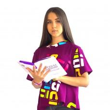 Футболка жен фиолетовая